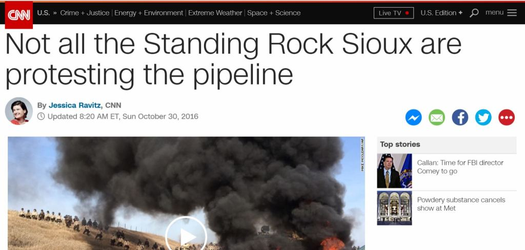 DAPL Police Standing Rock CNN